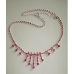 Ожерелье нежно розовое