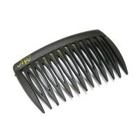 Гребень, французский пластик, AKCENT - Mari N , NC691-001blm, черный матовый