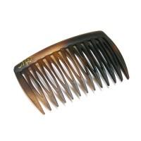 Гребень, французский пластик, AKCENT - Mari N , NC691-003vsm, коричневый матовый