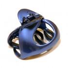 """Заколка  для волос """"Краб"""", французский пластик , АKCENT, Франция,  K38079-855, синяя"""