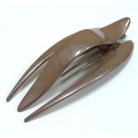 "Заколка ""Краб"", зажим боковой для волос, французский пластик, AKCENT, K38082-238c"
