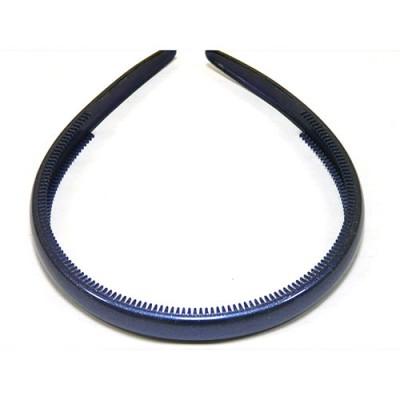Ободок, французский пластик, Акцент, OP110-855c, синий