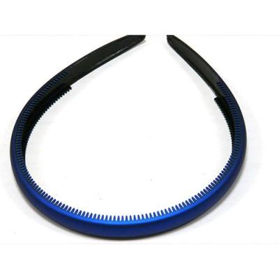 Ободок, французский пластик, Акцент, OP110-rbm, синий
