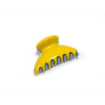 Краб, французский пластик, акцент, K280-210-231, желто-голубой