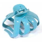 "Заколка ""Краб"", французский пластик с кристаллами, Акцент K38073-258"