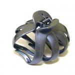 "Заколка  для  ""Краб"", французский пластик с кристаллами, Акцент, Франция,  K38073-855c"