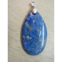 Кулон  - лазурит синий, натуральный камень