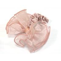 Резинка  ШУ-Шу   мягкая тканевая, P1028-2, розовая