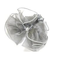 Резинка  ШУ-Шу   мягкая тканевая, P1028, серая серебристая