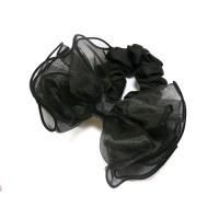 Резинка  ШУ-Шу   мягкая тканевая, P1028-5 черная