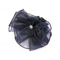 Резинка  ШУ-Шу   мягкая тканевая, P1096-2  темно-синяя