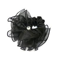 Резинка  ШУ-Шу   мягкая тканевая, P1096, черная