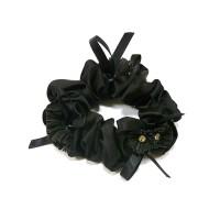 Резинка  ШУ-Шу   мягкая тканевая, P26959-2, черная