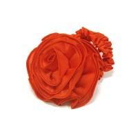 """Резинка  ШУ-Шу """"Роза""""  мягкая тканевая, P0918-4, красная"""